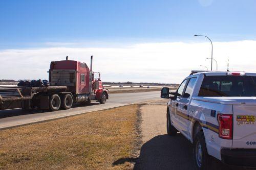 police truck semi