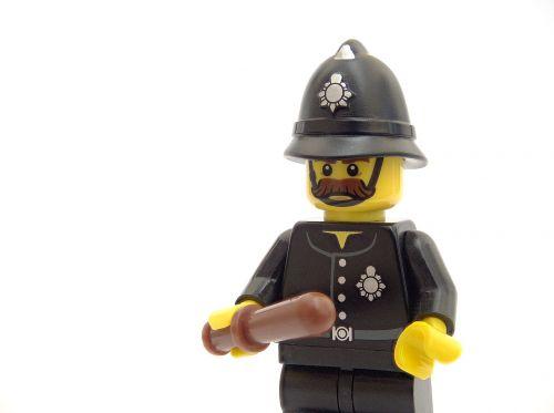 police lego policeman