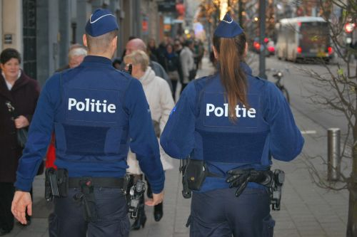 police blue people