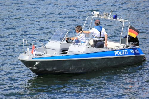 police water protection police edersee