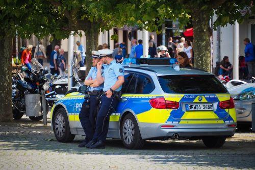 police vehicle police car