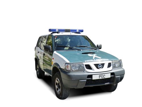 police civil guard patrol car