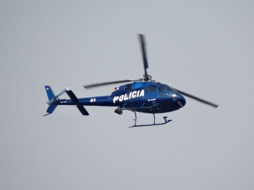 police transport aircraft