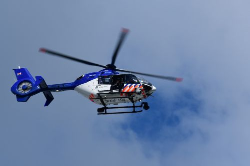 police helicopter helicopter flight