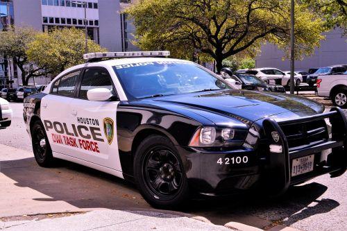 police squad car police car