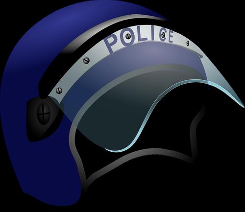 police  helmet  riot