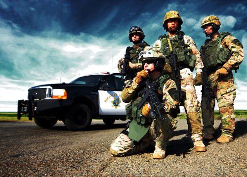 police highway patrol swat team