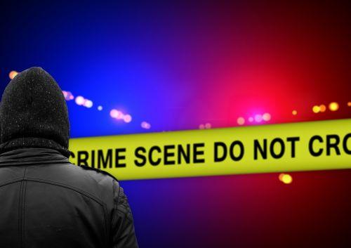 police crime scene discovery