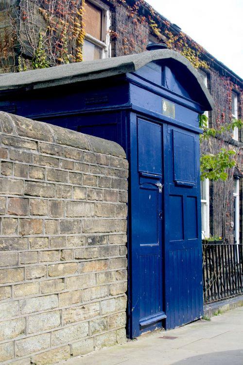 police box almondbury west yorkshire