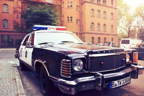 police car,auto,vehicle,city,berlin,police,germany,sun,hell
