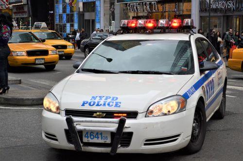 police car nypd manhattan