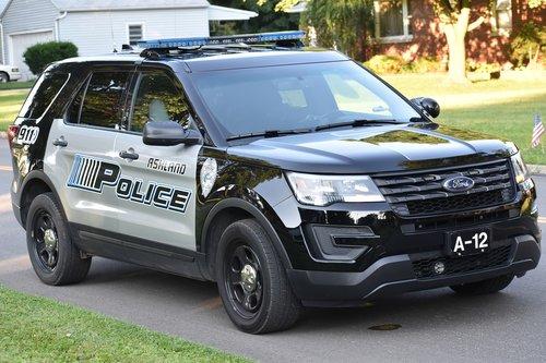 police car  police suv  ashland oh