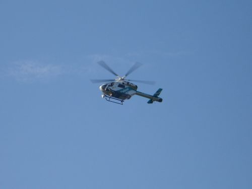police helicopter helicopter fly