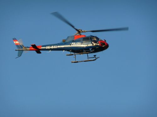 police helicopter helicopter use