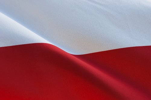 polish  flag  poland