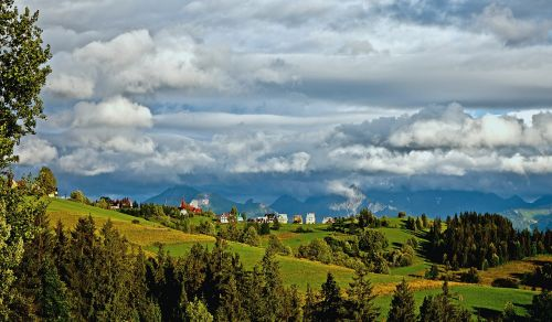 polish tatras mountains podhale