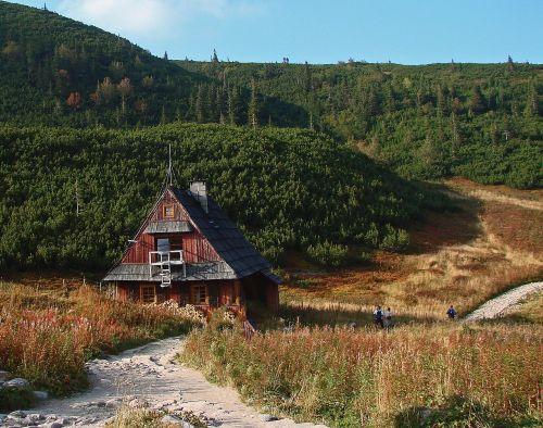 polish tatras cottage old