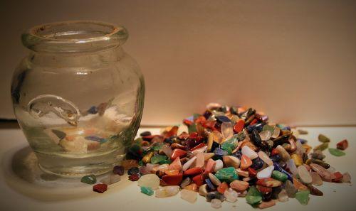 Polished Semi-precious Stone Chips