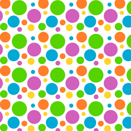 polka-dot background pattern