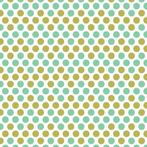 Polka Dots Background Pattern