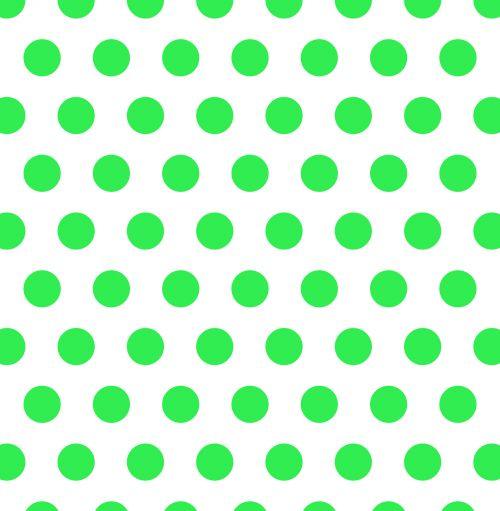 Polka Dots Green