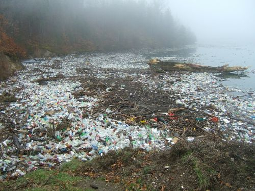 pollution drina plastic waste