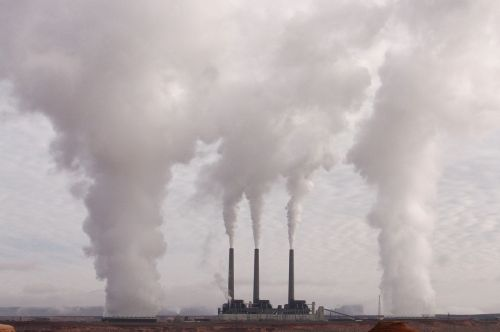 pollution factory industry