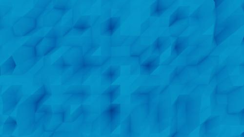 polygon 3d art blue background