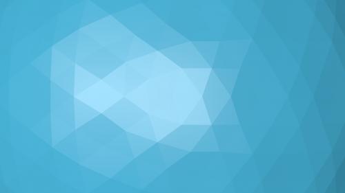 polygon blue light