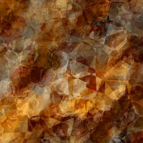 polygon background brown