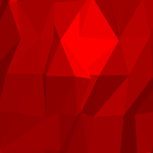 polygons abstract red