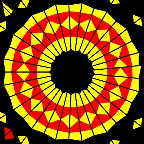 Polygons In Kaleidoscope