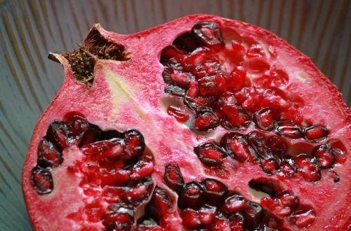 pomegranate fruit tropical fruit