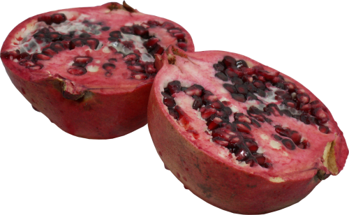 pomegranate fruit cut fruit