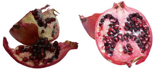 pomegranate fruit pomegranate seeds