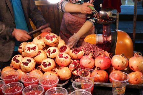 pomegranate gourmet warmth