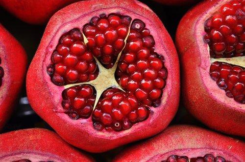 pomegranate  exotic fruit  fruit