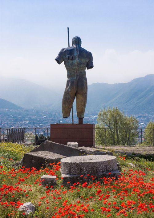 pompeii pompei statue