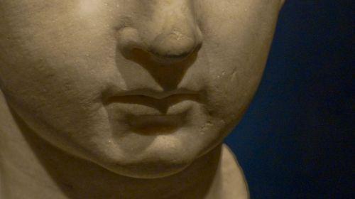 Pompeii Statue Child's Lips