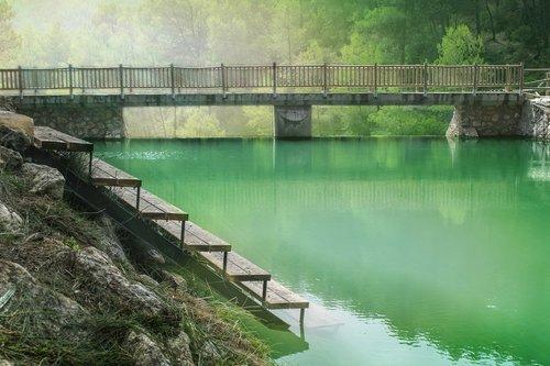 pond  ladder  lake