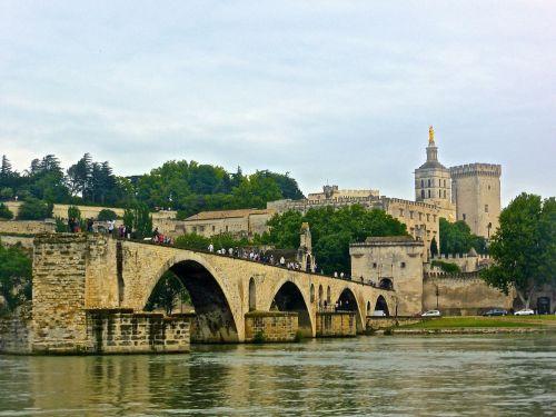 pont avignon bridge medieval