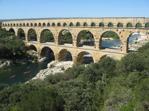 pont du gard provence france