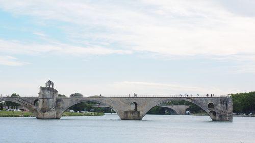 pont saint bénézet pont d'avignon rhône