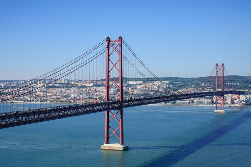 ponte 25 de abril lisbon bridge of 25 april