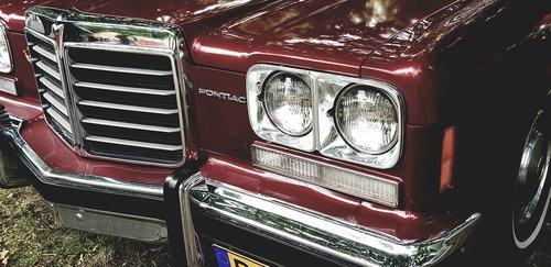 pontiac  the headlights  classic
