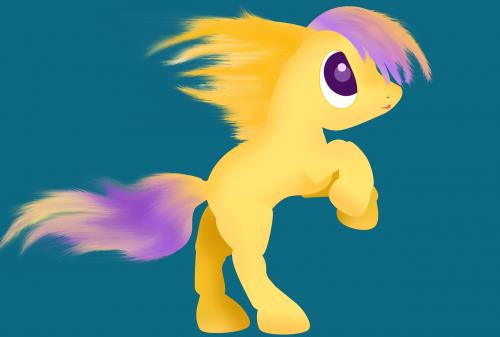 pony horse character