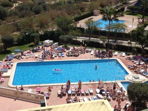 pool holiday sunshine