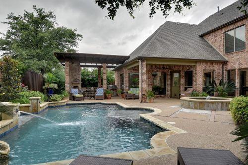 pool backyard pool swimming
