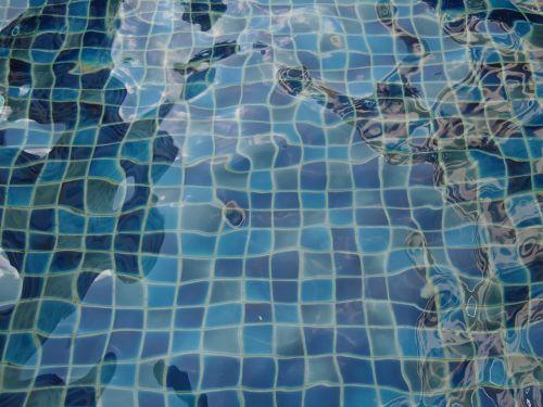 pool water blue