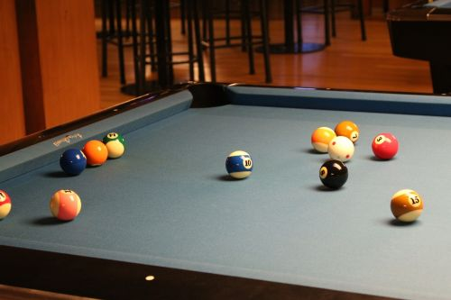 pool table pocket